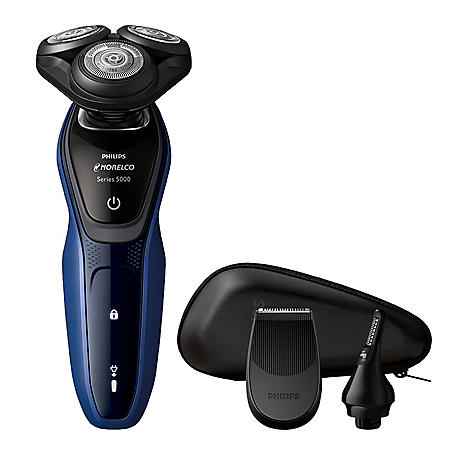 Philips Norelco Shaver 5150 with SmartClick Nose & Ear Trimmer