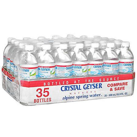 Crystal Geyser (16.9 oz., 35 pk.)