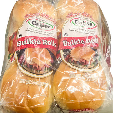 Calise Bakery Bulkie Rolls   (13 oz., 2 ct.)