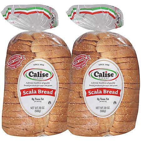 Calise Bakery Italian Scala Bread (20 oz., 2 pk.)