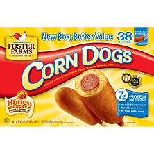 Foster Farms Corn Dogs (6.34 lb., 38 ct.)