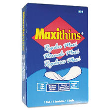 Hospital Specialty Co. Maxithins Sanitary Pads (100 ct.)