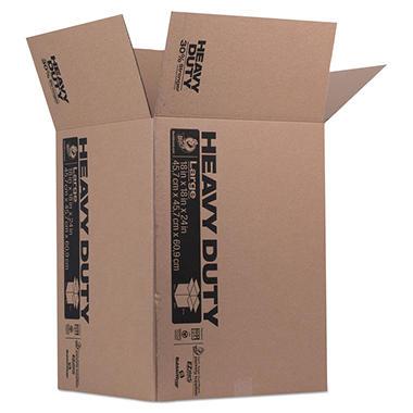 Duck Heavy Duty Box, Brown 18 x 18 x 24) - Sam\'s Club
