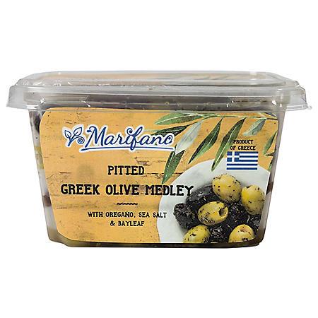 Marifano Pitted Greek Olive Medley (17.64 oz.)