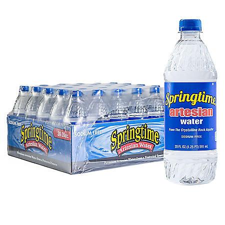 Springtime Artesian Water (20 fl. oz., 30 pk.)