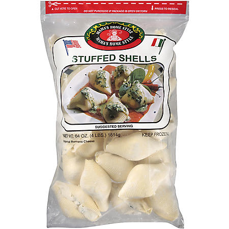 Mama's Home Style Stuffed Shells - 64 oz.