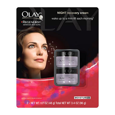 Olay Regenerist Night Recovery Cream (1.7 oz., 2 pk.)