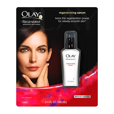 Olay Regenerist Serum, Regular - 3.4 oz.