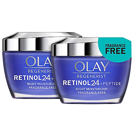Olay Regenerist Retinol 24 Night Facial Moisturizer (1.7 fl. oz., 2 pk.)