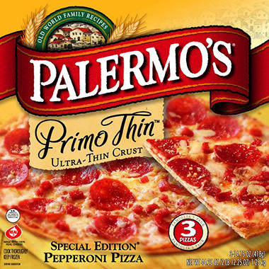 top rated primo thin pepperoni pizza 3