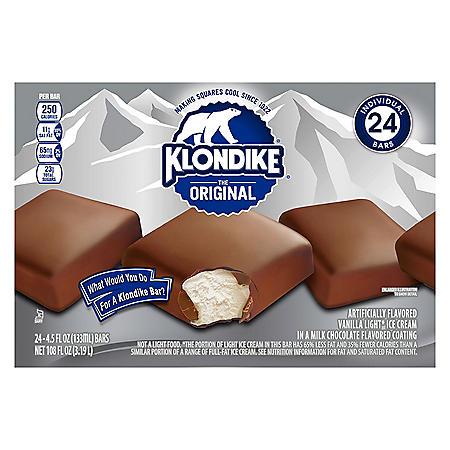 Klondike The Original Ice Cream Bar (24 ct.)