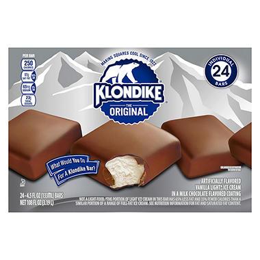klondike the original ice cream bar 4 5 oz 24 ct sam 39 s club. Black Bedroom Furniture Sets. Home Design Ideas