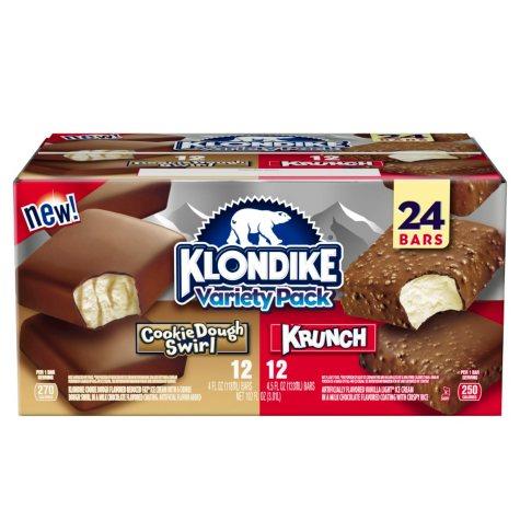 Klondike Ice Cream Bars Variety Pack (24 ct.)