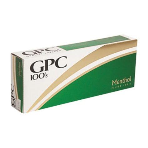 GPC Menthol 100s Soft Pack (20 ct., 10 pk.)