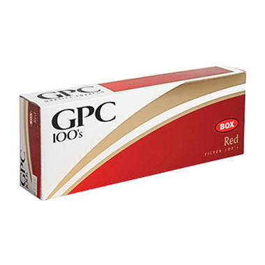 Gpc Red 100s  1 Carton
