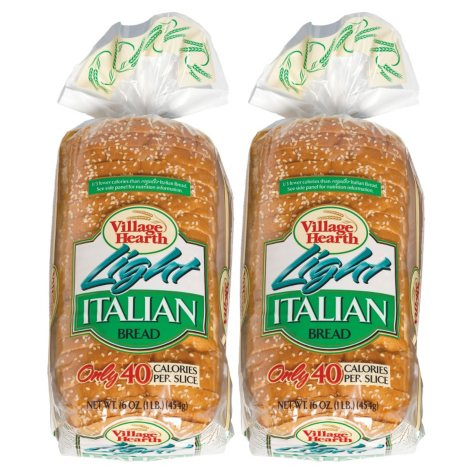 Village Hearth® Light Italian Bread - 16 oz. - 2 pk.