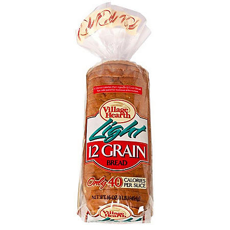 Village Hearth Light 12-Grain Bread (16 oz., 2 pk.)