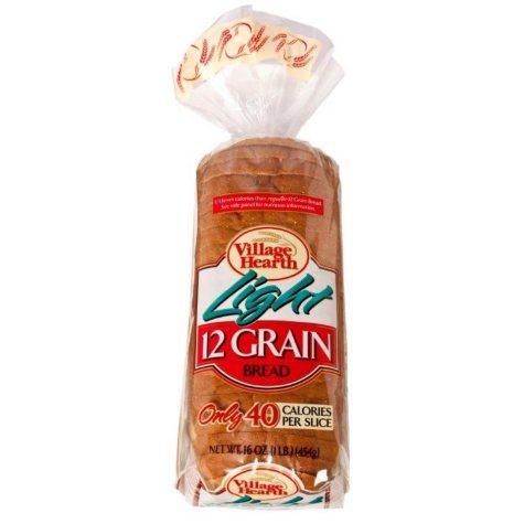 Village Hearth Light 12-Grain Bread (16 oz., 2 pk.)