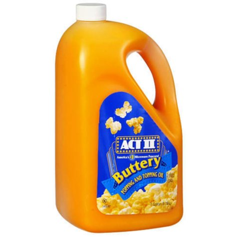 ACT II Popping and Topping Oil (1 gal. jug)