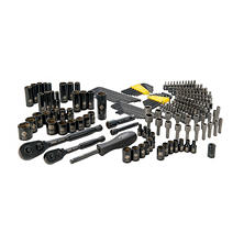 Stanley 226-Piece Mechanics Tool Set, Black-Chrome