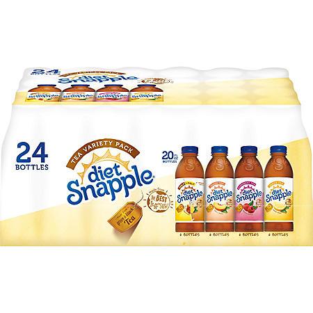 SNAPPLE DIET TEA VP 24/20 OZ