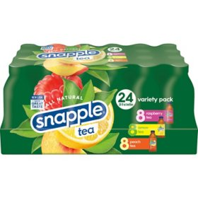 Snapple Tea Variety Pack (20 fl. oz. bottle, 24pk.)