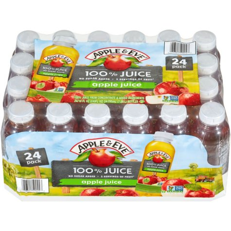 Apple & Eve 100% Apple Juice (10 oz. bottle, 24 ct.)