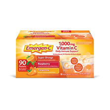 Emergen-C Variety Flavor Pack (90 ct.)