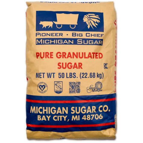 Pioneer Granulated Sugar (50 lbs.)
