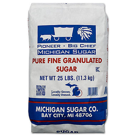 Pioneer Granulated Sugar (25 lbs.)