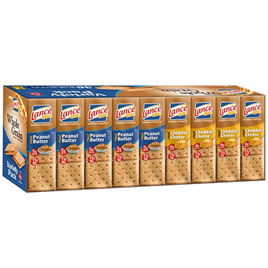 Lance Whole Grain Crackers Variety Pack (36 ct.)