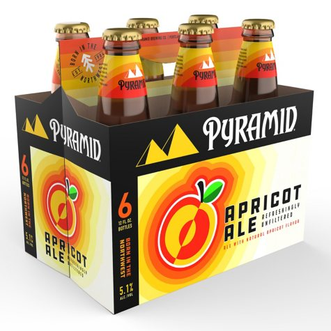 Pyramid Apricot Ale (12 fl. oz. bottle, 6 pk.)