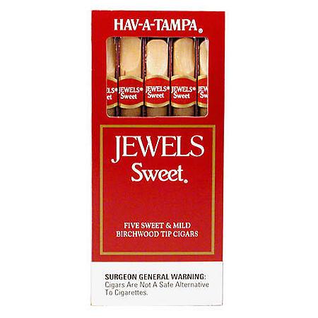 xoffline-HAV-A-TAMPA® Jewels Sweet® Cigars - 10/5 ct.