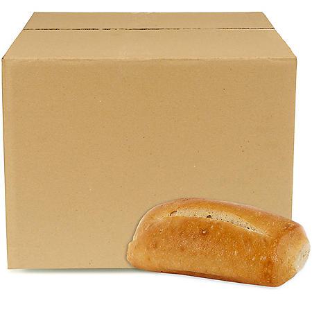 Case Sale: Petite White Hoagie Rolls (108 ct.)