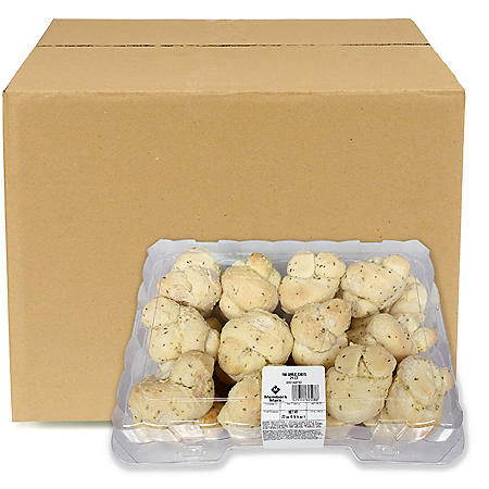 Member's Mark Garlic Knot Rolls, Bulk Wholesale Case (192 ct.)