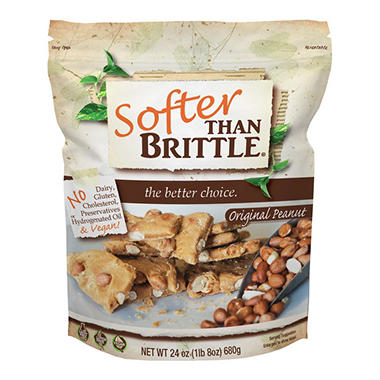 Softer Than Brittle, Peanut (24 oz.)