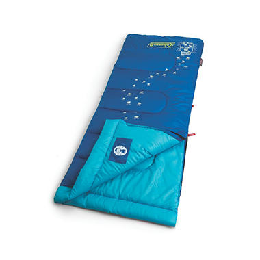 Coleman Youth Glow-In-The Dark Sleeping Bag