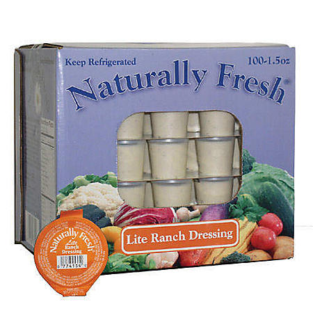 Naturally Fresh® Lite Ranch Dressing (1.5 oz., 100 pk.)