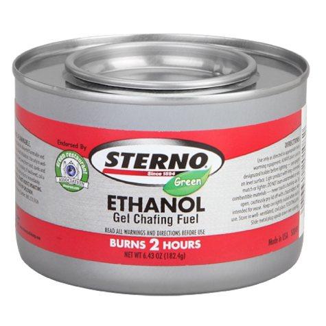 Sterno 2 Hour Green Ethanol Gel (72pk.)