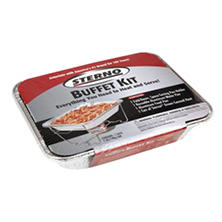 Sterno Half Size Buffet Kit, 4-Pack