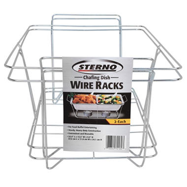 sterno chafing dish wire rack 2 pk