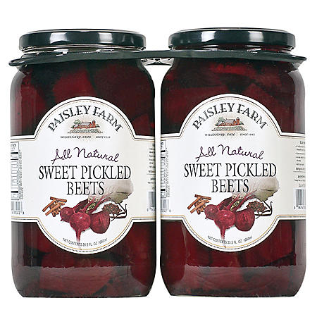 Paisley Farm Sweet Pickled Beets (35.5 oz. jars, 2 pk.)
