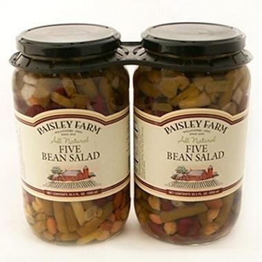 Paisley Farm Five Bean Salad 355 Oz 2 Ct