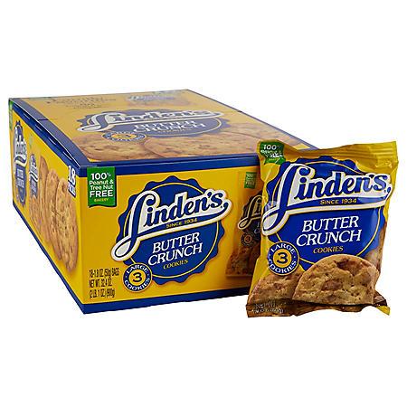 Linden's Butter Crunch Cookies (1.8 oz., 18 ct.)