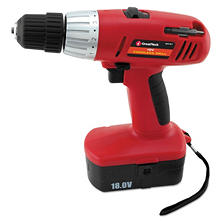 Great Neck 18-Volt 2-Speed Cordless Drill - 3/8in Keyless Chuck