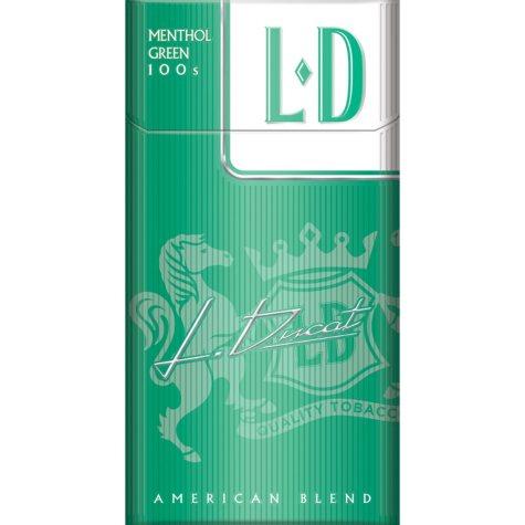 L D Menthol Green 100s Box (20 ct., 10 pk.)