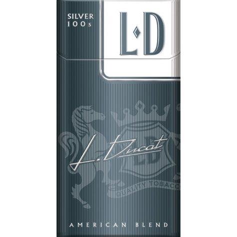 L D Silver 100s Box (20 ct., 10 pk.)