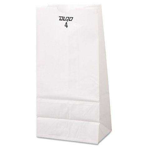 6# White Grocery Bags - 500ct