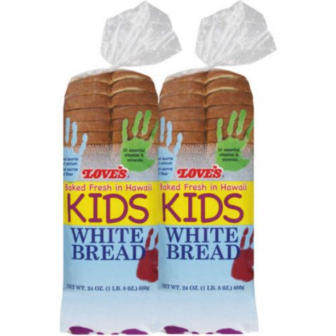 Love's Kids White Bread (24 oz., 2 pk.)