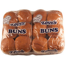 "Love's 4"" Hamburger Buns (12 ct., 2 pk.)"